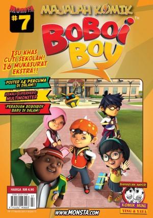Majalah Komik BoBoiBoy Isu #7 by Animonsta Studios Sdn Bhd from Animonsta Studios Sdn Bhd in Comics category