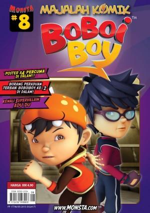 Majalah Komik BoBoiBoy Isu #8 by Animonsta Studios Sdn Bhd from Animonsta Studios Sdn Bhd in Comics category