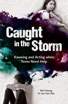Caught in the storm : knowing and acting when teens need help by Mel Cheang and Dr Lim Yun Chin from ARMOUR Publishing Pte Ltd in Family & Health category