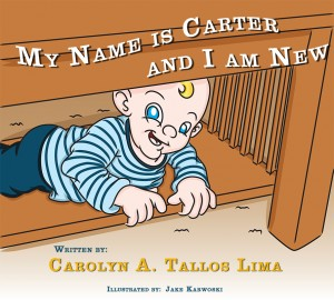 My Name is Carter and I am New  by Carolyn Tallos Lima from Bookbaby in Teen Novel category