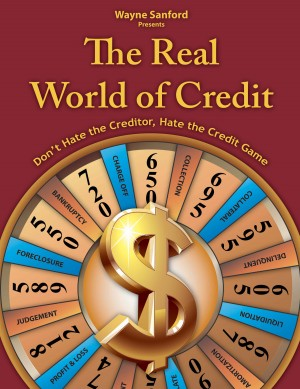 The Real World of Credit Don't hate the creditor, hate the credit game by Wayne Sanford from Bookbaby in Finance & Investments category
