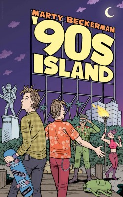 '90s Island - A Novella by Marty Beckerman from Bookbaby in Business & Management category