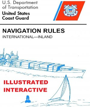 Navigation Rules (Illustrated & Interactive)  by U.S.C.G. from Bookbaby in Sports & Hobbies category