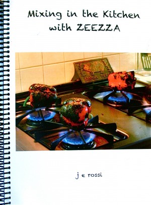Mixing in the Kitchen with ZEEZZA  by Janet E Rossi from  in  category