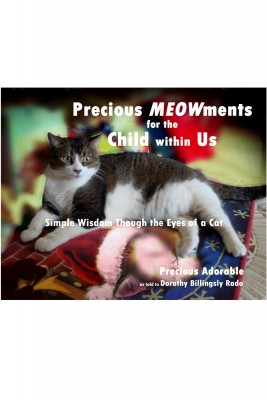 Precious Meowments for the Child within Us - Simple Wisdom Through the Eyes of a Cat by Dorothy Billingsly Rado from Bookbaby in General Novel category