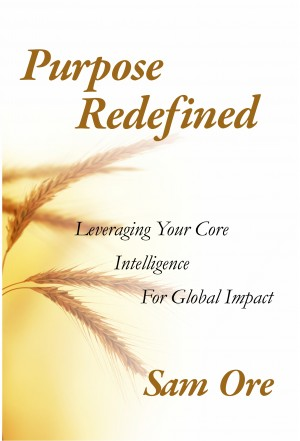 Purpose Redefined Leveraging Your Core intelligence for Global Impact by Sam Ore from Bookbaby in Religion category