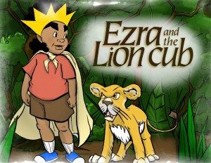 Ezra and the Lion Cub  by Wili Liberman from Bookbaby in Children category