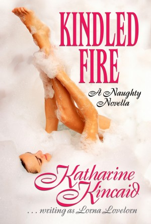 Kindled Fire A Naughty Novella by Katharine Kincaid from Bookbaby in General Novel category