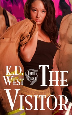 The Visitor - A Friendly FMM Ménage Tale by K.D. West from Bookbaby in General Novel category