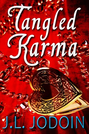 Tangled Karma by J.L. Jodoin from Bookbaby in Romance category
