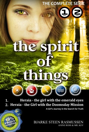 Heraia - The Girl with the Emerald Eyes - The Complete Edition - Part 1 & 2 by Bjarke Steen Rasmussen from Bookbaby in General Novel category