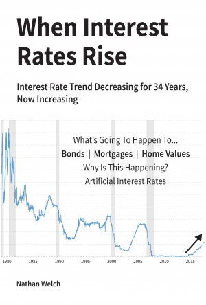 When Interest Rates Rise by Nathan Welch from Bookbaby in Finance & Investments category