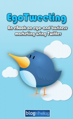 EgoTweeting An eBook on ego- and business marketing using Twitter by Lars Dahl from Bookbaby in Business & Management category