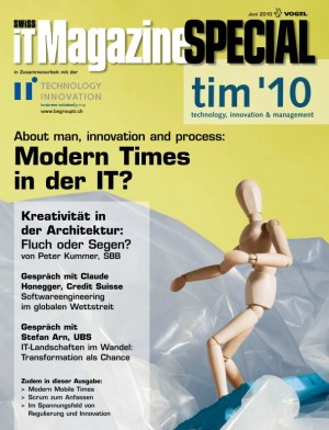 tim special '10 About man, innovation and process: Modern Times in der IT?