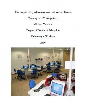 The Impact of Synchronous Inter-Networked Teacher Training in ICT Integration.  by Dr. Michael Vallance from Bookbaby in Engineering & IT category