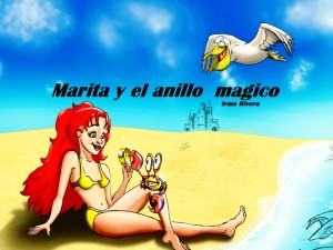 marita y el anillo magico  by IRMA RIVERA from Bookbaby in General Novel category