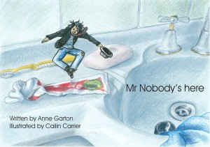 Mr. Nobody's here  by Anne Garton from Bookbaby in Teen Novel category
