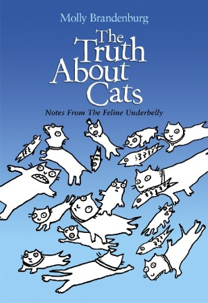 The Truth About Cats Notes From The Feline Underbelly by Molly Brandenburg from Bookbaby in Comics category