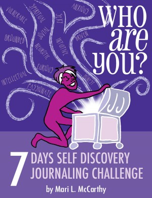Who Are You? 7 Days Self Discovery Journaling Challenge by Mari L. McCarthy from Bookbaby in Lifestyle category
