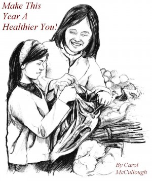 Make This Year A Healthier You!  by Carol McCullough from Bookbaby in Family & Health category