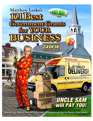 101 The Best Government Grants For Your Business  by Matthew Lesko from Bookbaby in General Novel category