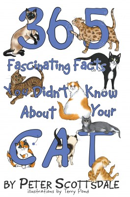 365 Fascinating Facts You Didn't Know About Your Cat by Peter Scottsdale from Bookbaby in Pet category