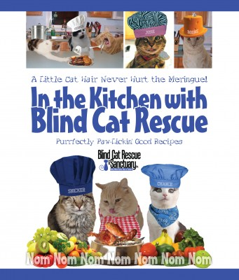 In the Kitchen with Blind Cat Rescue A Little Cat Hair Never Hurt the Meringue! by Blind Cat Rescue from Bookbaby in General Novel category
