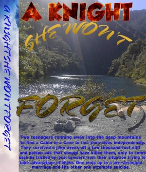 A Knight She Won't Forget - Teenage Innocence Raped by David L. Aragon from Bookbaby in Teen Novel category