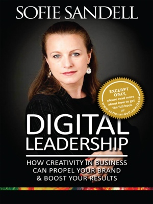 Digital Leadership - How Creativity in Buisness Can Propel Your Brand & Boost Your Results by Sofie Sandell from Bookbaby in Lifestyle category