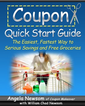 Coupon Quick Start Guide The Easiest, Fastest Way to Serious Savings and Free Groceries by Angela Newsom from Bookbaby in Finance & Investments category
