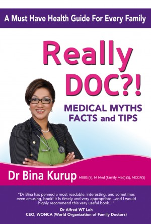 Really Doc?! - Medical Myths, Facts And Tips by Dr Bina Kurup from Bookbaby in Family & Health category