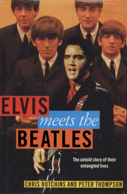 Elvis meets the Beatles by Peter Thompson from Bookbaby in Autobiography & Biography category