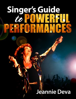 Singer's Guide to Powerful Performances by Jeannie Deva from Bookbaby in Art & Graphics category