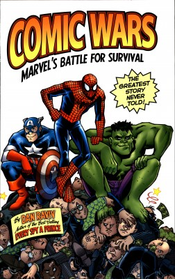 Comic Wars by Dan Raviv from Bookbaby in Business & Management category