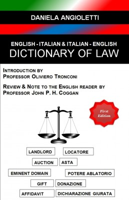 English - Italian & Italian - English Dictionary of Law by Daniela Angioletti from  in  category