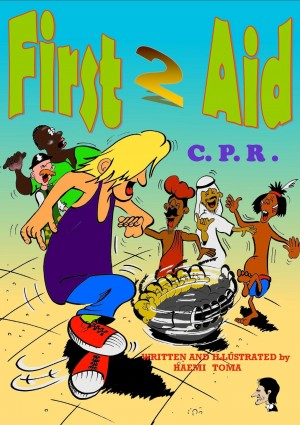 First 2 Aid C.P.R. by Haemi Toma from Bookbaby in Teen Novel category