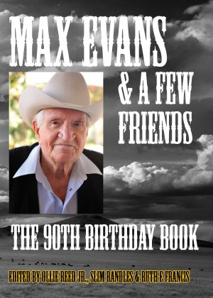 Max Evans and a Few Friends by Ruth E Francis from Bookbaby in Autobiography & Biography category