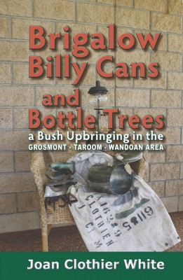 Brigalow Billy Cans and Bottle Trees by Joan Clothier White from Bookbaby in Autobiography & Biography category