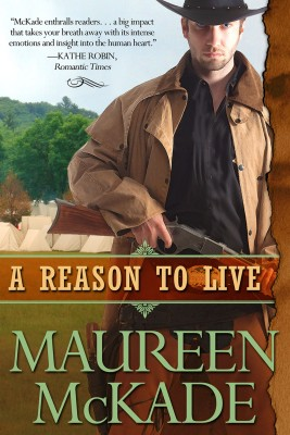 A Reason To Live by Maureen McKade from Bookbaby in Romance category
