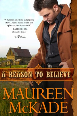 A Reason To Believe by Maureen McKade from Bookbaby in Romance category