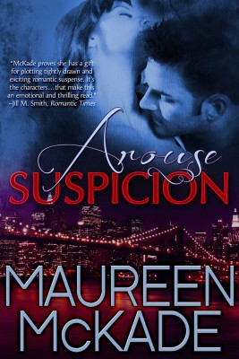 Arouse Suspicion by Maureen McKade from Bookbaby in Romance category