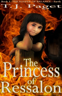 The Princess of Ressalon - Book 3  of the The Keeper of Balance - Earth by T J Paget from  in  category