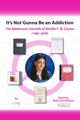 It's Not Gunna Be an Addiction - The Adolescent Journals of Amelia F. W. Caruso (1989 - 2009) by Amelia F. W. Caruso from Bookbaby in Teen Novel category