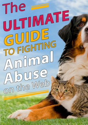 The Ultimate Guide to Fighting Animal Abuse on the Web - The Book that Saves Lives! by Dragos Vana from Bookbaby in General Novel category