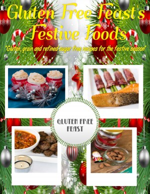 Gluten Free Feast's Festive Foods - Gluten, Grain and Refined Sugar Free Recipes for the Festive Season by Gluten Free Feast from Bookbaby in General Novel category