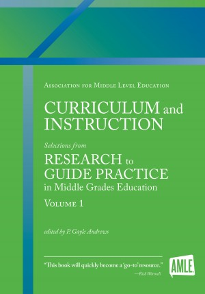 Curriculum and Instruction - Selections from Research to Guide Practice in Middle Grades Education by David W. Moore from Bookbaby in School Exercise category