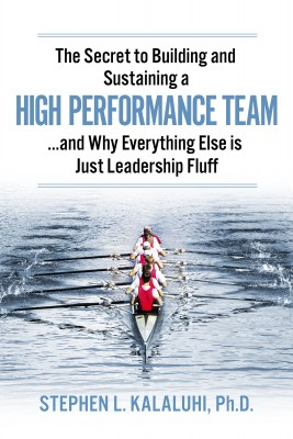 The Secret to Building and Sustaining a High Performance Team - ...And Why Everything Else is Just Leadership Fluff by Stephen L. Kalaluhi, Ph.D. from Bookbaby in Finance & Investments category