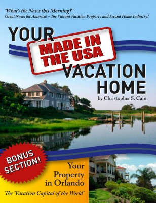 Your 'Made in the USA' Vacation Home by Christopher S. Cain from Bookbaby in Finance & Investments category