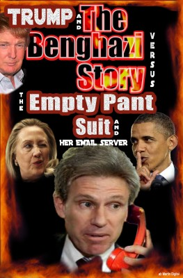 Trump and the Benghazi Story Versus the Empty Pant Suit