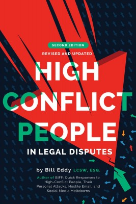 High Conflict People in Legal Disputes by Bill Eddy from Bookbaby in Law category